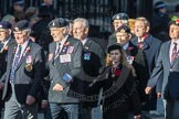 March Past, Remembrance Sunday at the Cenotaph 2016: F13 National Malayan & Borneo Veterans Association. Cenotaph, Whitehall, London SW1, London, Greater London, United Kingdom, on 13 November 2016 at 13:10, image #2223