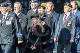 March Past, Remembrance Sunday at the Cenotaph 2016: F13 National Malayan & Borneo Veterans Association. Cenotaph, Whitehall, London SW1, London, Greater London, United Kingdom, on 13 November 2016 at 13:10, image #2224