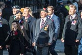 March Past, Remembrance Sunday at the Cenotaph 2016: F13 National Malayan & Borneo Veterans Association. Cenotaph, Whitehall, London SW1, London, Greater London, United Kingdom, on 13 November 2016 at 13:10, image #2225