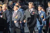 March Past, Remembrance Sunday at the Cenotaph 2016: F13 National Malayan & Borneo Veterans Association. Cenotaph, Whitehall, London SW1, London, Greater London, United Kingdom, on 13 November 2016 at 13:10, image #2227