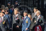 March Past, Remembrance Sunday at the Cenotaph 2016: F13 National Malayan & Borneo Veterans Association. Cenotaph, Whitehall, London SW1, London, Greater London, United Kingdom, on 13 November 2016 at 13:10, image #2228