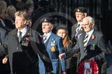 March Past, Remembrance Sunday at the Cenotaph 2016: F13 National Malayan & Borneo Veterans Association. Cenotaph, Whitehall, London SW1, London, Greater London, United Kingdom, on 13 November 2016 at 13:10, image #2229