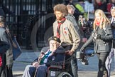 March Past, Remembrance Sunday at the Cenotaph 2016: F14 National Gulf Veterans & Families Association. Cenotaph, Whitehall, London SW1, London, Greater London, United Kingdom, on 13 November 2016 at 13:10, image #2231