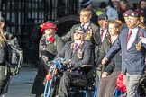 March Past, Remembrance Sunday at the Cenotaph 2016: F14 National Gulf Veterans & Families Association. Cenotaph, Whitehall, London SW1, London, Greater London, United Kingdom, on 13 November 2016 at 13:11, image #2233