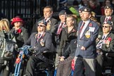 March Past, Remembrance Sunday at the Cenotaph 2016: F14 National Gulf Veterans & Families Association. Cenotaph, Whitehall, London SW1, London, Greater London, United Kingdom, on 13 November 2016 at 13:11, image #2234