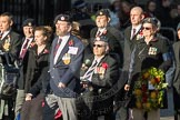 March Past, Remembrance Sunday at the Cenotaph 2016: F14 National Gulf Veterans & Families Association. Cenotaph, Whitehall, London SW1, London, Greater London, United Kingdom, on 13 November 2016 at 13:11, image #2236