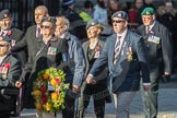 March Past, Remembrance Sunday at the Cenotaph 2016: F14 National Gulf Veterans & Families Association. Cenotaph, Whitehall, London SW1, London, Greater London, United Kingdom, on 13 November 2016 at 13:11, image #2242