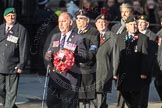 March Past, Remembrance Sunday at the Cenotaph 2016: F15 Fellowship of the Services. Cenotaph, Whitehall, London SW1, London, Greater London, United Kingdom, on 13 November 2016 at 13:11, image #2246