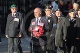 March Past, Remembrance Sunday at the Cenotaph 2016: F15 Fellowship of the Services. Cenotaph, Whitehall, London SW1, London, Greater London, United Kingdom, on 13 November 2016 at 13:11, image #2247