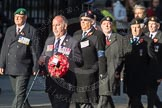 March Past, Remembrance Sunday at the Cenotaph 2016: F15 Fellowship of the Services. Cenotaph, Whitehall, London SW1, London, Greater London, United Kingdom, on 13 November 2016 at 13:11, image #2248