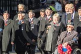March Past, Remembrance Sunday at the Cenotaph 2016: F15 Fellowship of the Services. Cenotaph, Whitehall, London SW1, London, Greater London, United Kingdom, on 13 November 2016 at 13:11, image #2253