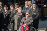 March Past, Remembrance Sunday at the Cenotaph 2016: F15 Fellowship of the Services. Cenotaph, Whitehall, London SW1, London, Greater London, United Kingdom, on 13 November 2016 at 13:11, image #2255