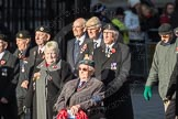 March Past, Remembrance Sunday at the Cenotaph 2016: F16 Memorable Order of Tin Hats. Cenotaph, Whitehall, London SW1, London, Greater London, United Kingdom, on 13 November 2016 at 13:11, image #2256