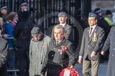 March Past, Remembrance Sunday at the Cenotaph 2016: F16 Memorable Order of Tin Hats. Cenotaph, Whitehall, London SW1, London, Greater London, United Kingdom, on 13 November 2016 at 13:11, image #2261
