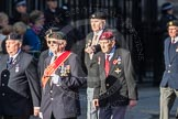 March Past, Remembrance Sunday at the Cenotaph 2016: F17 Suez Veterans Association. Cenotaph, Whitehall, London SW1, London, Greater London, United Kingdom, on 13 November 2016 at 13:11, image #2282