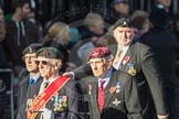 March Past, Remembrance Sunday at the Cenotaph 2016: F17 Suez Veterans Association. Cenotaph, Whitehall, London SW1, London, Greater London, United Kingdom, on 13 November 2016 at 13:11, image #2283