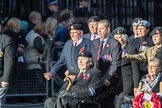 March Past, Remembrance Sunday at the Cenotaph 2016: F18 Aden Veterans Association. Cenotaph, Whitehall, London SW1, London, Greater London, United Kingdom, on 13 November 2016 at 13:11, image #2285