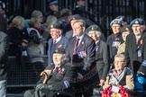 March Past, Remembrance Sunday at the Cenotaph 2016: F18 Aden Veterans Association. Cenotaph, Whitehall, London SW1, London, Greater London, United Kingdom, on 13 November 2016 at 13:11, image #2286