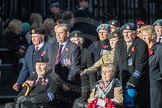 March Past, Remembrance Sunday at the Cenotaph 2016: F18 Aden Veterans Association. Cenotaph, Whitehall, London SW1, London, Greater London, United Kingdom, on 13 November 2016 at 13:11, image #2287
