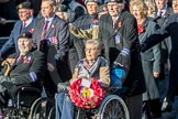 March Past, Remembrance Sunday at the Cenotaph 2016: F18 Aden Veterans Association. Cenotaph, Whitehall, London SW1, London, Greater London, United Kingdom, on 13 November 2016 at 13:11, image #2289