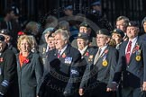 March Past, Remembrance Sunday at the Cenotaph 2016: F18 Aden Veterans Association. Cenotaph, Whitehall, London SW1, London, Greater London, United Kingdom, on 13 November 2016 at 13:11, image #2292