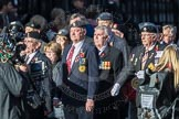 March Past, Remembrance Sunday at the Cenotaph 2016: F18 Aden Veterans Association. Cenotaph, Whitehall, London SW1, London, Greater London, United Kingdom, on 13 November 2016 at 13:11, image #2295