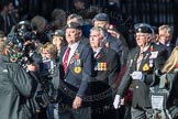 March Past, Remembrance Sunday at the Cenotaph 2016: F18 Aden Veterans Association. Cenotaph, Whitehall, London SW1, London, Greater London, United Kingdom, on 13 November 2016 at 13:11, image #2296