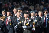 March Past, Remembrance Sunday at the Cenotaph 2016: F18 Aden Veterans Association. Cenotaph, Whitehall, London SW1, London, Greater London, United Kingdom, on 13 November 2016 at 13:11, image #2298