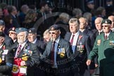 March Past, Remembrance Sunday at the Cenotaph 2016: F18 Aden Veterans Association. Cenotaph, Whitehall, London SW1, London, Greater London, United Kingdom, on 13 November 2016 at 13:11, image #2301