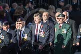 March Past, Remembrance Sunday at the Cenotaph 2016: F18 Aden Veterans Association. Cenotaph, Whitehall, London SW1, London, Greater London, United Kingdom, on 13 November 2016 at 13:11, image #2302