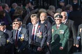 March Past, Remembrance Sunday at the Cenotaph 2016: F19 Showmens' Guild of Great Britain. Cenotaph, Whitehall, London SW1, London, Greater London, United Kingdom, on 13 November 2016 at 13:11, image #2303