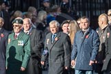 March Past, Remembrance Sunday at the Cenotaph 2016: F19 Showmens' Guild of Great Britain. Cenotaph, Whitehall, London SW1, London, Greater London, United Kingdom, on 13 November 2016 at 13:11, image #2305