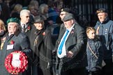 March Past, Remembrance Sunday at the Cenotaph 2016: F19 Showmens' Guild of Great Britain. Cenotaph, Whitehall, London SW1, London, Greater London, United Kingdom, on 13 November 2016 at 13:11, image #2310