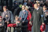 March Past, Remembrance Sunday at the Cenotaph 2016: F21 The Spirit of Normandy Trust. Cenotaph, Whitehall, London SW1, London, Greater London, United Kingdom, on 13 November 2016 at 13:12, image #2331