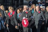 March Past, Remembrance Sunday at the Cenotaph 2016: M19 PDSA. Cenotaph, Whitehall, London SW1, London, Greater London, United Kingdom, on 13 November 2016 at 13:16, image #2641