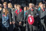 March Past, Remembrance Sunday at the Cenotaph 2016: M19 PDSA. Cenotaph, Whitehall, London SW1, London, Greater London, United Kingdom, on 13 November 2016 at 13:16, image #2642