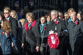 March Past, Remembrance Sunday at the Cenotaph 2016: M19 PDSA. Cenotaph, Whitehall, London SW1, London, Greater London, United Kingdom, on 13 November 2016 at 13:16, image #2643