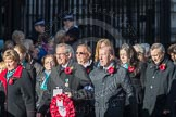 March Past, Remembrance Sunday at the Cenotaph 2016: M19 PDSA. Cenotaph, Whitehall, London SW1, London, Greater London, United Kingdom, on 13 November 2016 at 13:16, image #2644