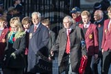March Past, Remembrance Sunday at the Cenotaph 2016: M20 Old Cryptians' Club. Cenotaph, Whitehall, London SW1, London, Greater London, United Kingdom, on 13 November 2016 at 13:16, image #2652