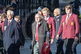March Past, Remembrance Sunday at the Cenotaph 2016: M20 Old Cryptians' Club. Cenotaph, Whitehall, London SW1, London, Greater London, United Kingdom, on 13 November 2016 at 13:16, image #2653