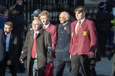 March Past, Remembrance Sunday at the Cenotaph 2016: M20 Old Cryptians' Club. Cenotaph, Whitehall, London SW1, London, Greater London, United Kingdom, on 13 November 2016 at 13:16, image #2654