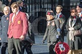 March Past, Remembrance Sunday at the Cenotaph 2016: M21 Fighting G Club. Cenotaph, Whitehall, London SW1, London, Greater London, United Kingdom, on 13 November 2016 at 13:16, image #2657