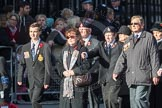 March Past, Remembrance Sunday at the Cenotaph 2016: M22 The Royal British Legion - Civilians. Cenotaph, Whitehall, London SW1, London, Greater London, United Kingdom, on 13 November 2016 at 13:16, image #2662