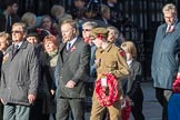 March Past, Remembrance Sunday at the Cenotaph 2016: M22 The Royal British Legion - Civilians. Cenotaph, Whitehall, London SW1, London, Greater London, United Kingdom, on 13 November 2016 at 13:16, image #2669