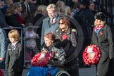 March Past, Remembrance Sunday at the Cenotaph 2016: M22 The Royal British Legion - Civilians. Cenotaph, Whitehall, London SW1, London, Greater London, United Kingdom, on 13 November 2016 at 13:16, image #2676