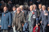 March Past, Remembrance Sunday at the Cenotaph 2016: M23 Gallipoli Association. Cenotaph, Whitehall, London SW1, London, Greater London, United Kingdom, on 13 November 2016 at 13:16, image #2691