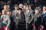 March Past, Remembrance Sunday at the Cenotaph 2016: M24 Union Jack Club. Cenotaph, Whitehall, London SW1, London, Greater London, United Kingdom, on 13 November 2016 at 13:16, image #2700