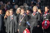 March Past, Remembrance Sunday at the Cenotaph 2016: M27 National Association of Round Tables. Cenotaph, Whitehall, London SW1, London, Greater London, United Kingdom, on 13 November 2016 at 13:17, image #2719