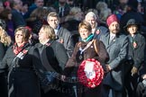March Past, Remembrance Sunday at the Cenotaph 2016: M27 National Association of Round Tables. Cenotaph, Whitehall, London SW1, London, Greater London, United Kingdom, on 13 November 2016 at 13:17, image #2729