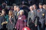 March Past, Remembrance Sunday at the Cenotaph 2016: M31 Romany & Traveller Society. Cenotaph, Whitehall, London SW1, London, Greater London, United Kingdom, on 13 November 2016 at 13:17, image #2777